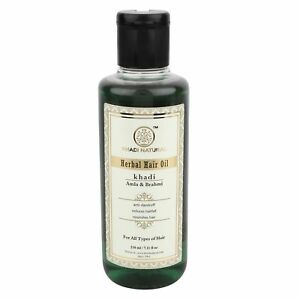 Khadi-Natural-Amla-amp-Brahmi-Hair-Oil-210ml