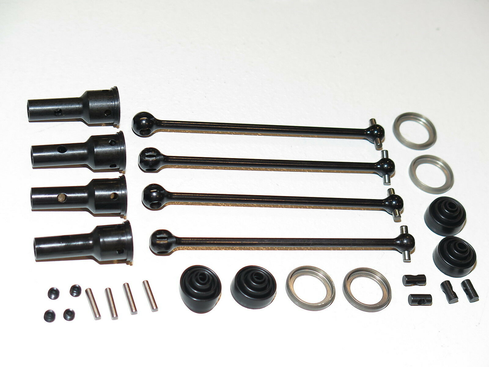 TLR04004 TEAM LOSI RACING TLR 1 8 8IGHT-E 4.0 DRIVE SHAFT CVDS AXLES WITH stivali