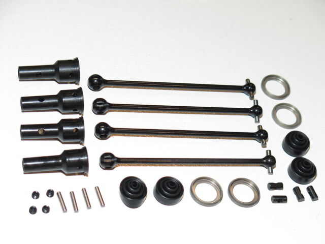 Front Kyosho Inferno GT2 Nitro Rear /& Center DRIVE SHAFTS AXLES /& JOINT CUPS