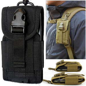 buy popular a85b8 20649 Details about Tactical military Fanny Pouch Belt Hip Molle Waist Bag cell  Phone Case Portable