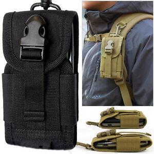 buy popular 0e721 2a9d2 Details about Tactical military Fanny Pouch Belt Hip Molle Waist Bag cell  Phone Case Portable