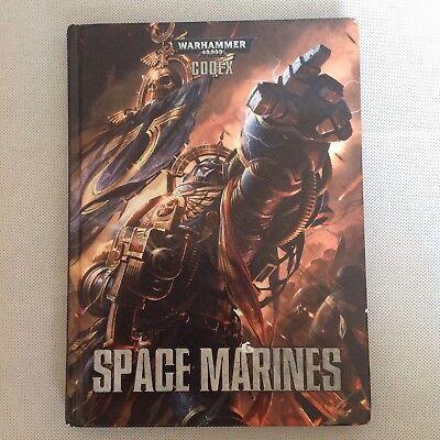 Warhammer 40000 40k Space Marine 2012 Codex Rilegato Isbn 978-1782530763-mostra Il Titolo Originale