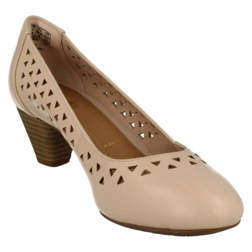 5 Court denny E Heels Clarks 7 Pink Nude Uk Ladies Smart Leather Dallas New BRaSwqF