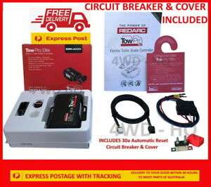 REDARC Tow Pro Elite V3 Electric Brake Controller EBRH-ACCV3  + CIRCUIT BREAKER