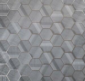Lamborghini-Hexagon-Charcoal-gray-bronze-metallic-textured-Wallpaper-Geometric