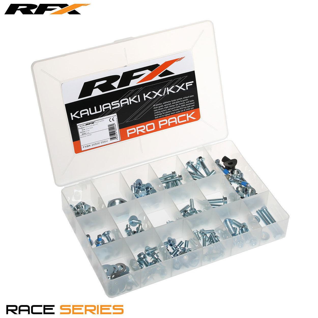 RFX Race Series Pro Bolt Pack (OEM Style) Kawasaki KX/KXF
