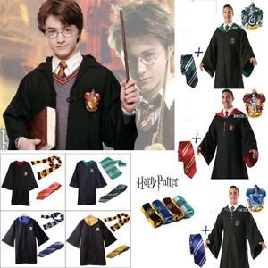 Image Is Loading Harry Potter Outfits Cape Hogwarts  Uniform Cloak Gryffindor