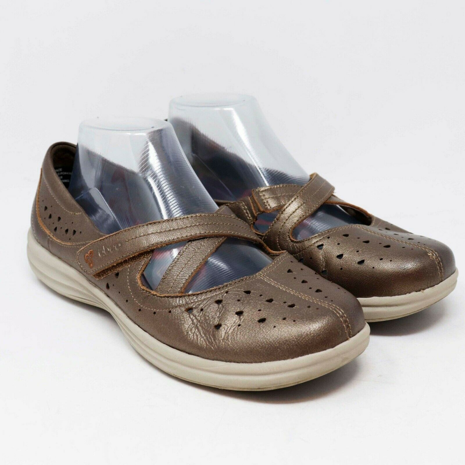 Abeo Aerosystems Womens Bronze Comfort Shoes Size 8.5