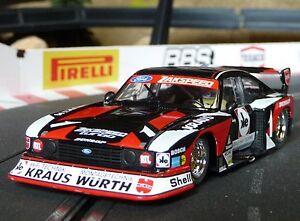 Sideways-Slotcar-FORD-CAPRI-Zakspeed-WURTH-1-32-auch-fuer-Carrera-Evolution-SW48