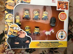 Despicable Me 3- 3D Puzzle Erasers Set 9eJnND7R-09172004-529680288