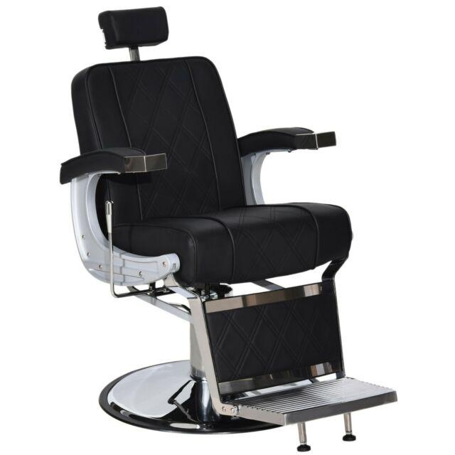 Barberpub Vintage Barber Chair Metal Recline Beauty Salon Spa Equipment 3827 For Sale Online Ebay