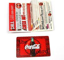 Coca-Cola Coke Karte USA 1998 - Cca-Cola Card