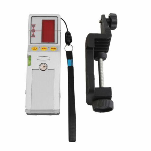 Outdoor 12 Line 3D Laser Level Detektor Empfänger mit Klemme Rot Grüne Linie Ver