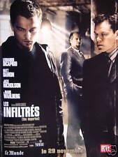 PUBLICITÉ 2006 RTL LES INFILTRÉS - LEONARDO DICAPRIO MATT DAMON - JACK NICHOLSON
