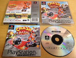 CRASH-BASH-for-SONY-PS1-PS2-amp-PS3-COMPLETE-by-Naughty-Dog