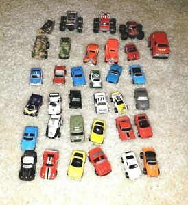 Micro Machines Or Similar 34 Toy Cars Lot O Ebay