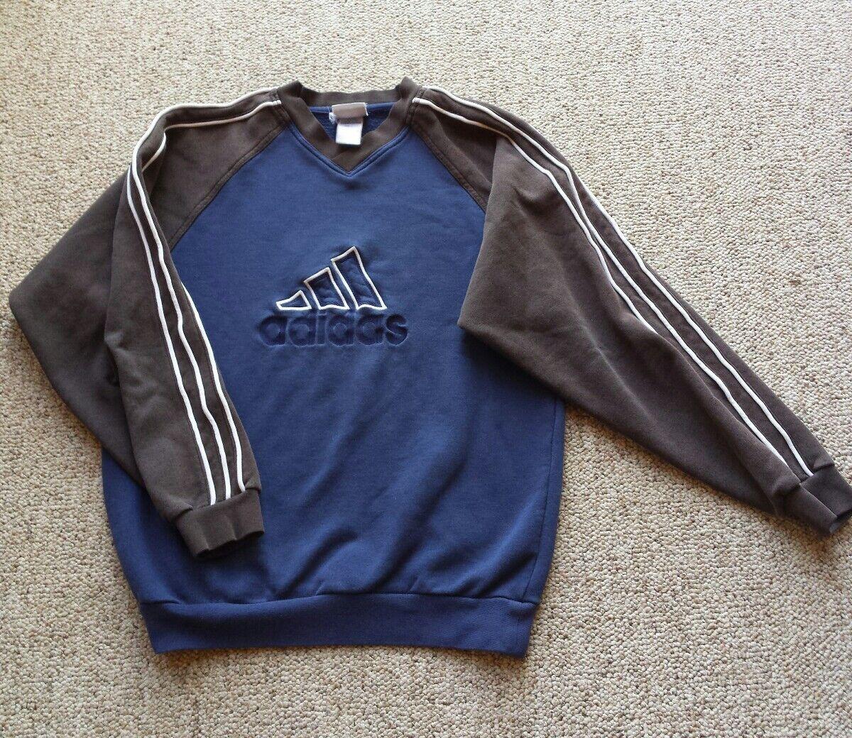 Adidas Sweatshirt Spell Out Switzerland Sport Mode Haueter Munsingen Logo L