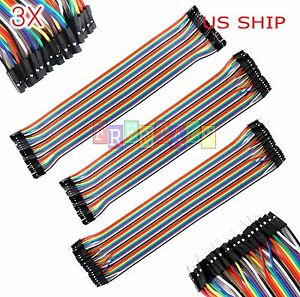T1-3X-40pcs-30cm-Male-To-Male-Female-Dupont-Wire-Jumper-Cable-Arduino-Breadboard