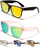 EYED Round Cat Eye Design Womens Sunglasses Semi- Mirrored Lens 100%UV400 11019