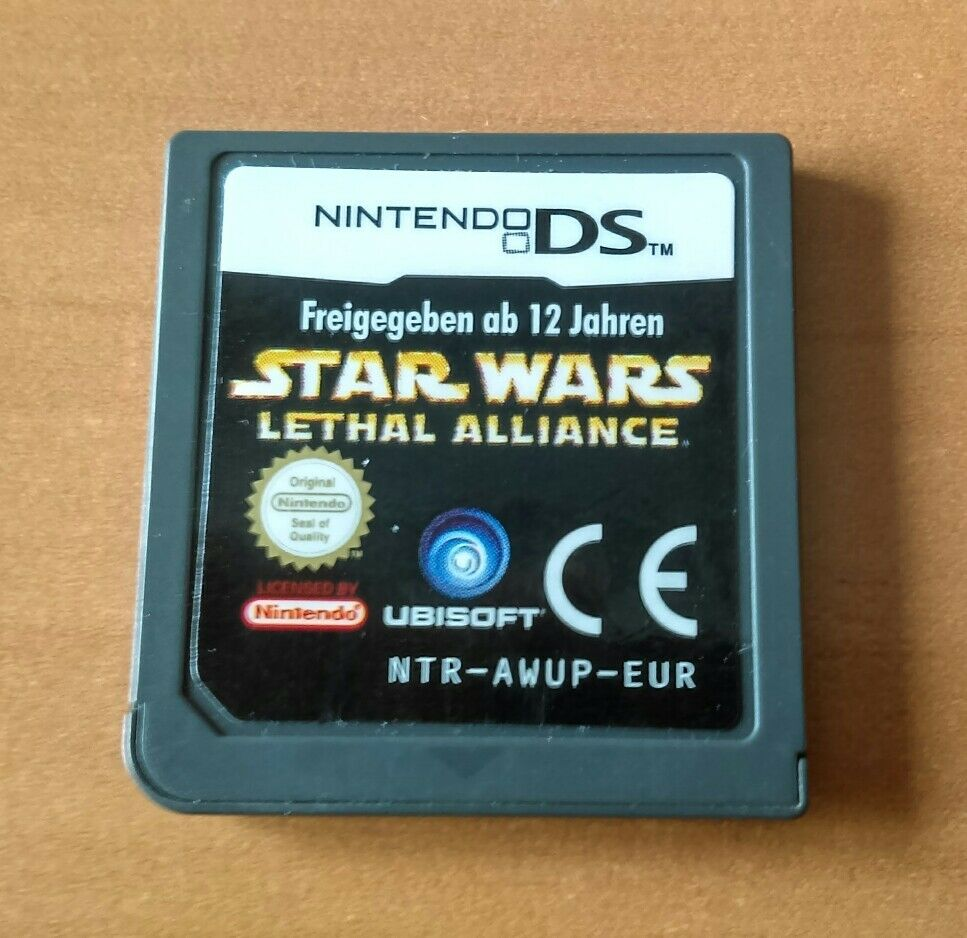 STAR WARS LETHAL ALLIANCE Pour NINTENDO DS - Bonne affaire StarWars