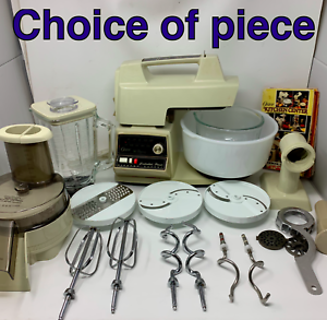 Vtg-Oster-Regency-Kitchen-Center-972-06A-Replacement-Parts-CHOICE-Beige-Almond