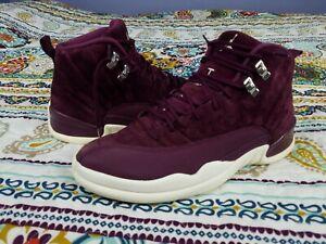 check out 87c69 1dcff Details about Air Michael Jordan Retro 12 XII Bordeaux Maroon Sz 11  Basketball Shoes Sneakers