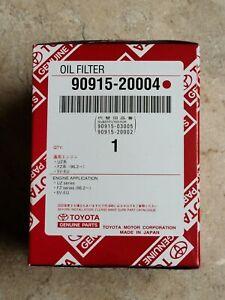 90915-20004 Toyota OIL FILTER, MADE in JAPAN, NOS OEM Part
