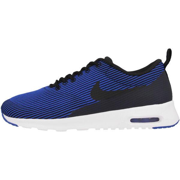 Nike Air Max Max Max Thea De Punto Jaquard Zapatillas De Mujer Zapatos Mujer Black Azul 65ac46
