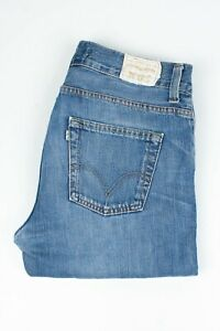 30350 Levi'S Levi Strauss 506 Standard Bleu Hommes Jean En Taille 33/32