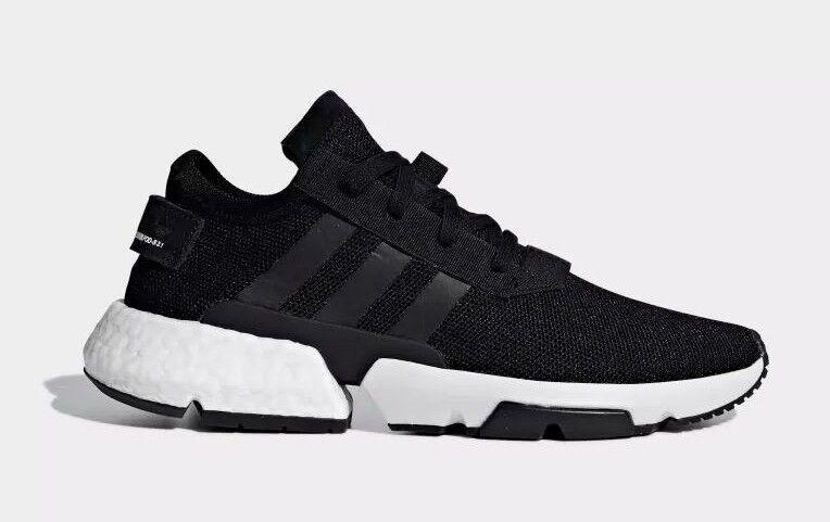 Adidas Originals blanco hombres zapatos negro / blanco Originals pod-s3.1 b37366 C 536997