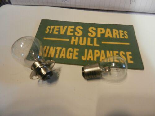 12V 35//35W H//LAMP bulb and 12v 21//5w rear bulb . YAMAHA RD125//200//250,400 DX