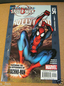 Ultimate-Spider-Man-54-May-2004-Marvel-Brian-Michael-Bendis-1st-Arachno-Man-ZC
