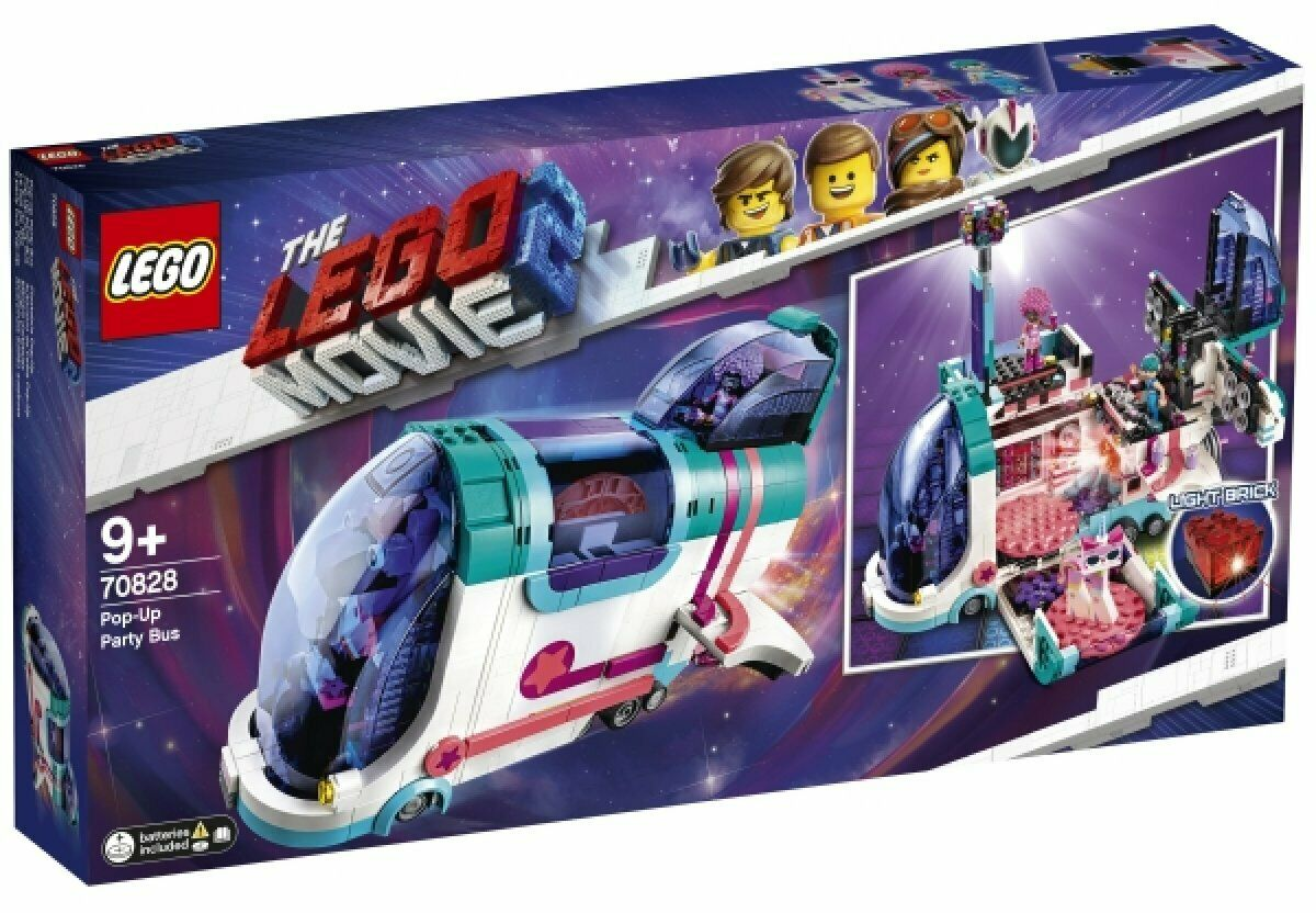 LEGO MOVIE  2 Pop-up-Party-Bus 70828 NEUF  distribution globale