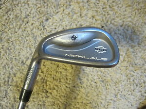 * Nicklaus Vcg Cryogenic Supersteel 9 Iron Steel Shaft R Nicklaus Grip Left