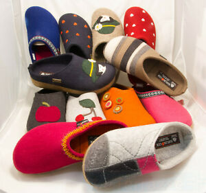 fe662a4f0ac3 Image is loading Haflinger-Grizzly-Sabot-Slipper-Line-birkenstock-slippers- shoes-