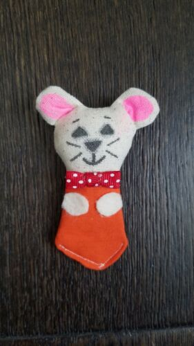 Vintage Avon Christmas Calendar Mouse - Countdown to Christmas - Advent