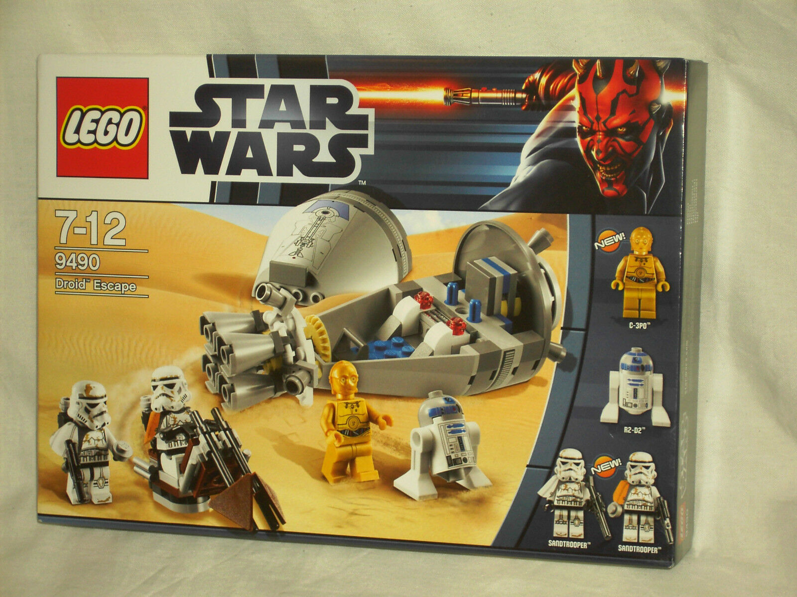 LEGO STAR WARS 9490 - DROID ESCAPE     NEW AND SEALED
