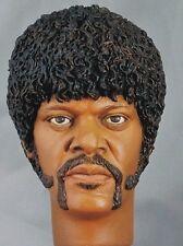 1:6 Custom Head of Samuel L. Jackson as Jules Winnfield from Pulp Fiction