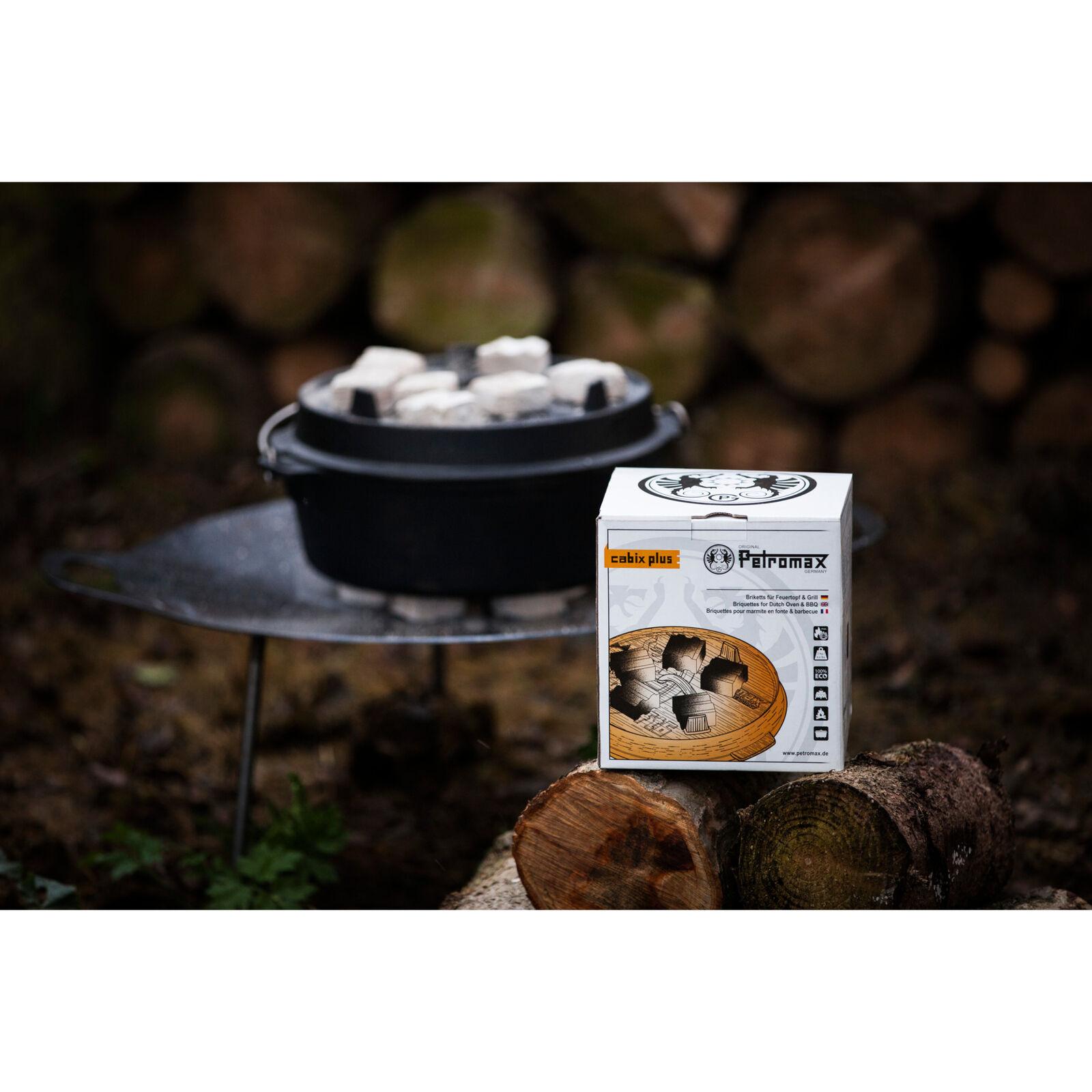 Petromax Cabix Plus Briketts f Dutch Oven /& BBQ Feuertopf Kokos Kohle Grill 3kg