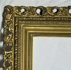 BIG-FITS-20-034-X-24-034-GOLD-GILT-ORNATE-WOOD-PICTURE-FRAME-FINE-ART-VICTORIAN