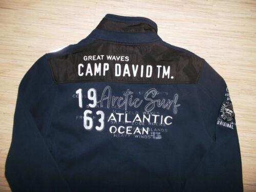 Brandneu 2019 Camp David Sweatjacke Jacke Gr.M L XL XXL XXXL 3XL Neu