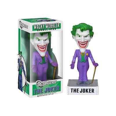 FUNKO DC UNIVERSE BATMAN THE JOKER WACKY WOBBLER BOBBLE HEAD BRAND NEW