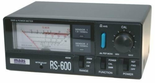 MAAS RS 600 SWR + Power, 1,8 - 160 Mhz. + 140 - 525 Mhz., Topqualität, Neu+OVP