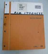 Case 580k Loader Backhoe Service Manual