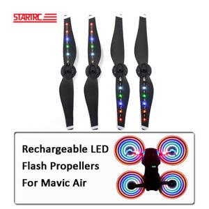 2 Pairs Mavic LED Flash Propeller Night Flying Blades For DJI Mavic Air Parts