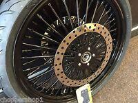21 X 3.5- 52 Spoke Mammoth Hd Flh/flt Wheel Avon Cobra B/w 120/70-21 Tire