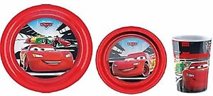 Disney-Cars-melamine-repas-ensemble-3-pieces-enfants-Dinner-Sets-Bol-Assiette-Tasse