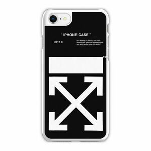 official photos b3c9a ec34f Details about Off White Arrow Black Phone Case fit for iPhone 6s 7 8Plus X,  Off White Cover