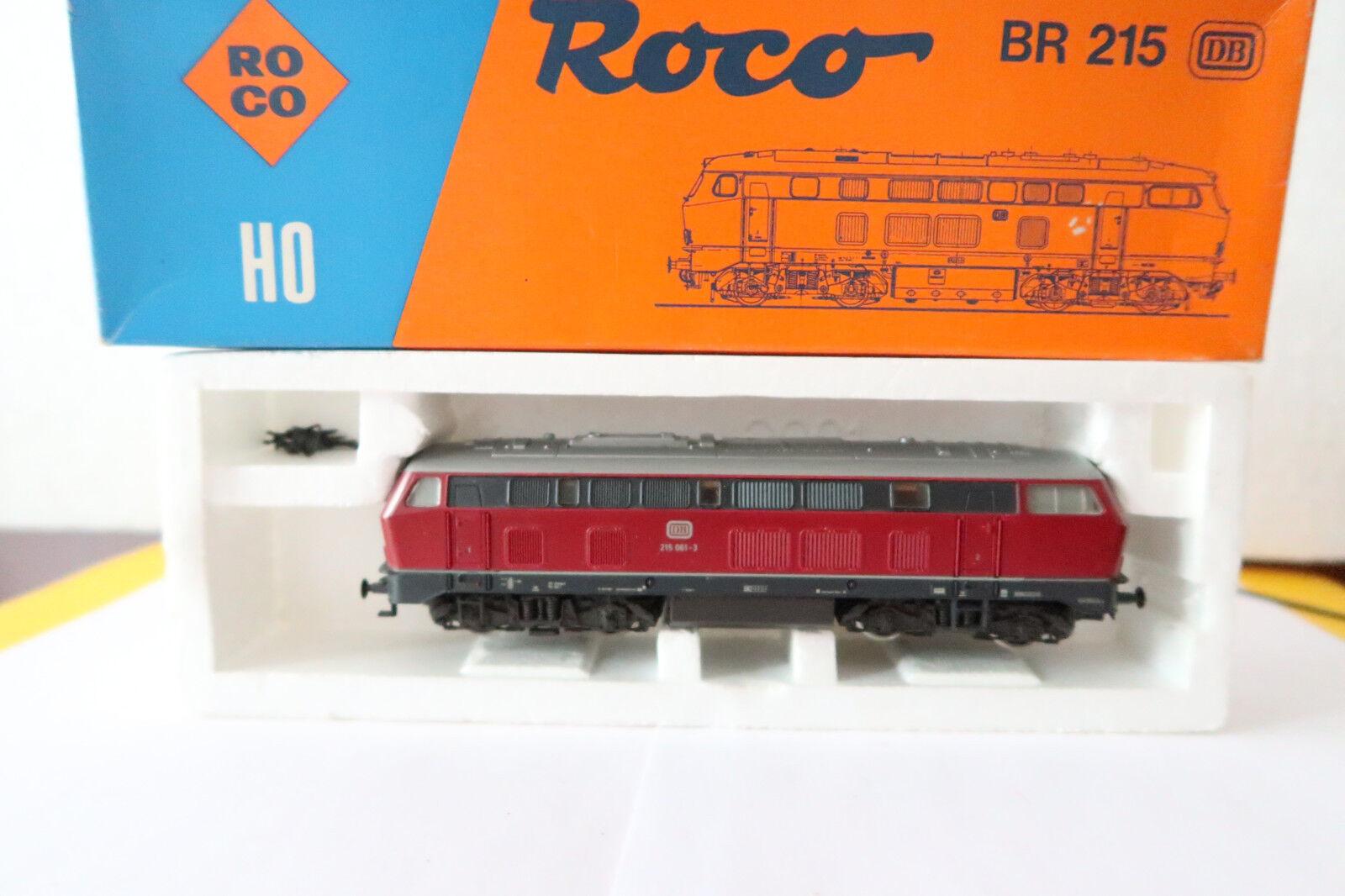 economico in alta qualità Roco Roco Roco HO DC 43449 Diesel Lok BR 215 061-3 DB Altrosso (AA 686-31R8 10)  prezzo all'ingrosso e qualità affidabile
