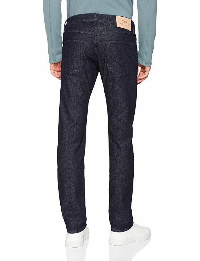 Edwin Men's ED-55 Tapered Fit Jeans, bluee (Rinsed F900), W34 L32